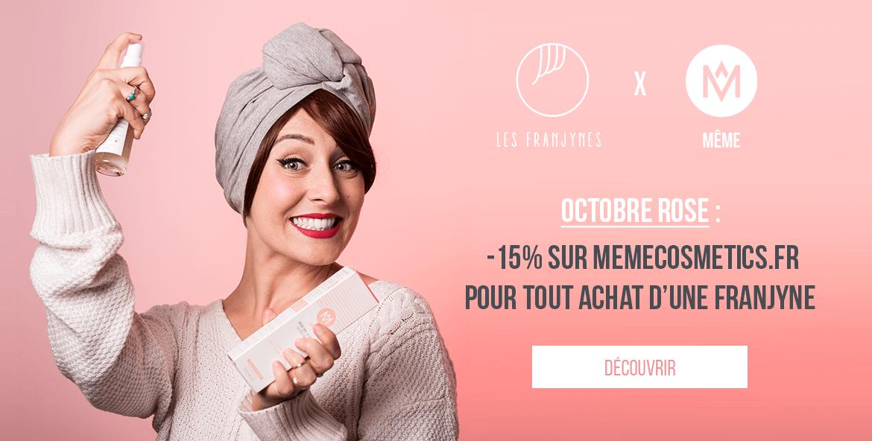 collab Les Franjynes X Même cosmétics