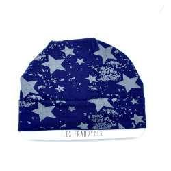 Bonnet bleu marine étoiles