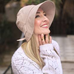 Chapeau en Coton crème