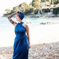Robe Bleu Nissa