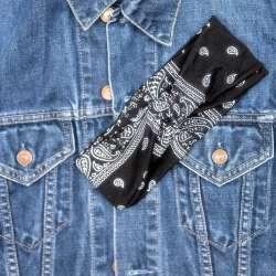 Bandeau Style bandana noir