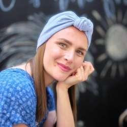 Bonnet Baby Doll Froatie bleu ciel