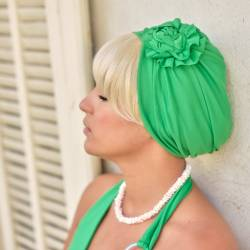Bonnet Primavera Savane Vert