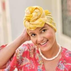 Turban Madame Sable jaune