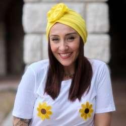 Bonnet Primavera Canicule jaune